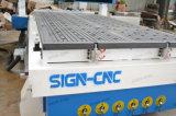 3D para entalhar fresadora CNC de eixos 4 Máquina de gravura para o trabalho da madeira