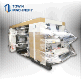 Volle automatische vier Farbe Flexo Drucken-Maschine (YT-4600, YT-4800, YT-41000)