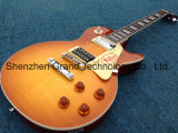 De Arce flameado Grover Tuning Jimmy Page número dos, Vos Lp Standard Electric Guitar (BPL-713)