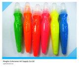 5*14ml Neon Color Tempera Paint mit Brush für Students und Kids