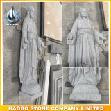 Marmer het Meeste Heilig Hart van Jesus Statue