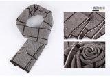 Шарф зимы полиэфира шерстей способа людей Nylon акриловый сплетенный (YKY4620)