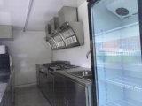 Carrello mobile dell'alimento del caffè del caravan di Remorque Churros della cucina di Exoprt