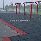 Pavimentazione di gomma per la stuoia esterna della pavimentazione di sicurezza del campo da giuoco dei bambini