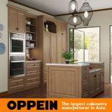 大きい台所PP性質の木の台所食器棚(OP15-PP07)