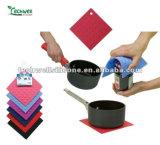 Support de pot magique de matériaux de Silcone et ouvreur anti-caloriques et mous de fiole