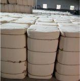 Tissu blanc blanchi tissé par coton 100%