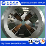 La cavidad de extrusión de tubo de PVC doble línea de producción /