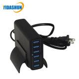 이동 전화를 위한 지능적인 USB 벽 충전기 6 USB 포트 충전소 탁상용 접합기