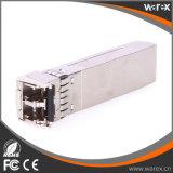 Модуль приемопередатчиков 10GBASE-SR двухшпиндельный LC 850nm 300m SFP+ оптического волокна