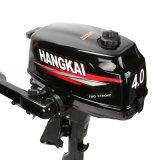 Hangkai 4HP 2 tempos motor de popa barco inflável