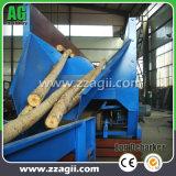 販売のための広く利用された樹皮の皮機械森林木製のログの降りる機械