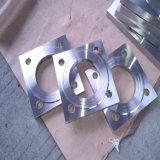 O carbono inoxidável forjou flanges quadradas de aço não padronizadas