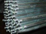 Galvanizado hidrostática rosca del tubo de acero sin costura para la lucha contra incendios