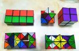Anti cubo di sforzo di vendita calda, cubo di Rubik del magnete del cubo di irrequietezza di infinità