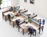 Mobiliário de mesa de trabalho moderno branco aberto para escritório (SZ-WST613)