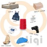 Amorçage 100% de couture tourné par faisceau de textile de polyester 40s pour le sac