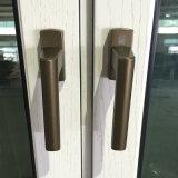 Европейское окно наклона и поворота твердой древесины типа алюминиевое