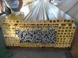 Tipo rectangular perfil FT50A del tubo de la alta calidad de la extrusión por estirado de FRP
