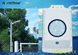 Réverbère solaire complet de jardin de l'aperçu gratuit IP65 6W