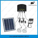 sistema ligero solar 4W con el cargador móvil