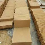 Ardesie di legno gialle/colore giallo naturali/di verde arenaria per la pavimentazione/rivestimento parete/del pavimento/decorazione dell'interno/esterna