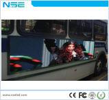 Van het LEIDENE van de reclame Binnen LEIDENE van de Bus Teken van het Scherm P6mm Vertoning