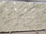 Spra White / Sea Wave Chinese White Granite Slab