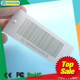 Supermarktloyalität PlastikKey Tag mit Barcode für Förderung