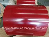 Покрынный цвет PPGI гальванизировал стальную катушку для Corrugated плитки крыши