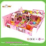Le plastique d'enfants glisse des accessoires de cour de jeu avec des tunnels