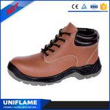 Оптовая низкая лодыжка шнурует вверх красные ботинки безопасности Ufa083