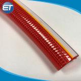 Keine Torsion Faser gestrickte transparente Belüftung-faserverstärkte Schlauchleitung