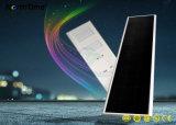 Lampes solaires intelligentes solaires de contrôle de temps de réverbères d'éclairages LED