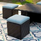 コーヒーテーブルが付いている深い座席のラウンジチェア