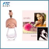Accesorios del coche de la botella de perfume del coche del ambientador de aire del coche de la dimensión de una variable de la muñeca que echan en chorro
