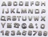 divisa por encargo del coche de la letra del cromo del emblema del cromo del coche de la divisa de la letra del oro de la insignia del coche de las divisas de los 3m