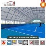 A liga de alumínio ostenta barracas para a corte de tênis para a venda