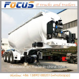 China 45CBM 59t 3eixos Tanque de cimento a granel semi reboque