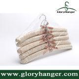 最上質のサテンによってパッドを入れられるハンガー(GLSH601)
