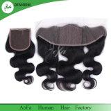 I capelli brasiliani 13*4 slacciano il Frontal del merletto dei capelli umani del Virgin dell'onda