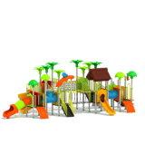 Parque Infantil exterior de plástico para crianças e crianças (JYG-15013)