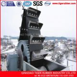 물통 엘리베이터를 위한 컨베이어 벨트를 올리기