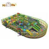 Aire de jeu Bébé doux meilleur jeu de l'équipement de terrain de jeux intérieure commerciale grand parc