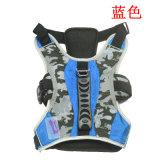 Harnais d'animal familier de harnais de crabot pour le grand crabot avec le traitement en caoutchouc (YD610)