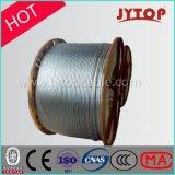 La norma DIN48204 conductores ACSR Conductor de aluminio reforzado de acero de Líneas Aéreas de Transmisión