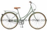 700c女性City Bike Vintage Bikeコースターブレーキ関連の内側の3人の速度の女性都市都市バイク