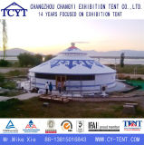 Segeltuch-Hochzeitsfest-Ereignis Aluminiummongolisches Yurt Bambuszelt