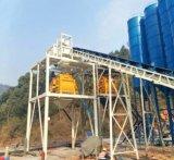 Grande máquina da construção da capacidade de armazenamento Hzs180/planta de tratamento por lotes concreta