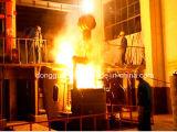 Forno elétrico de fusão de 160kw para ferro fundido